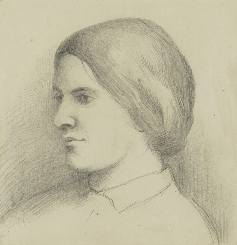 Octavia Hill, possibly by a member of the Barton family, circa 1864 - NPG 3804 - © National Portrait Gallery, London