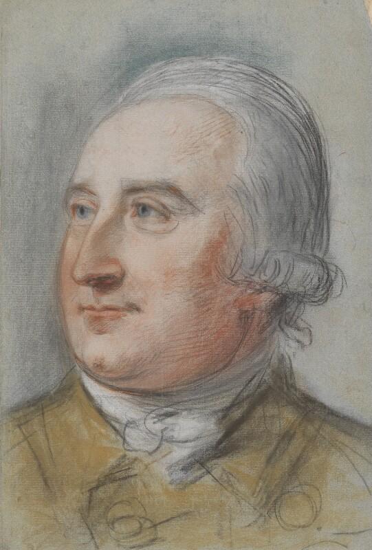 Sir Richard Hill, 2nd Bt, by John Russell, circa 1780-1783 -NPG 1465 - © National Portrait Gallery, London