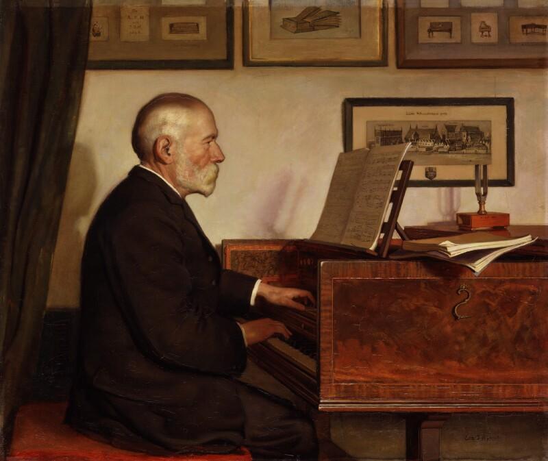Alfred James Hipkins, by Edith J. Hipkins, 1898 - NPG 2129 - © National Portrait Gallery, London