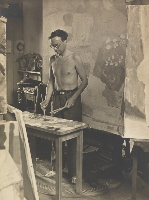 Ivon Hitchens, by John Somerset Murray, 1933 - NPG P135 - © reserved; collection National Portrait Gallery, London