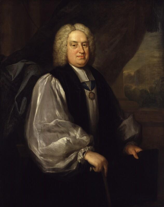 Benjamin Hoadly, by Sarah Hoadly, circa 1726-1743 - NPG 31 - © National Portrait Gallery, London