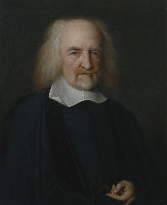 Thomas Hobbes, by John Michael Wright, circa 1669-1670 - NPG 225 - © National Portrait Gallery, London