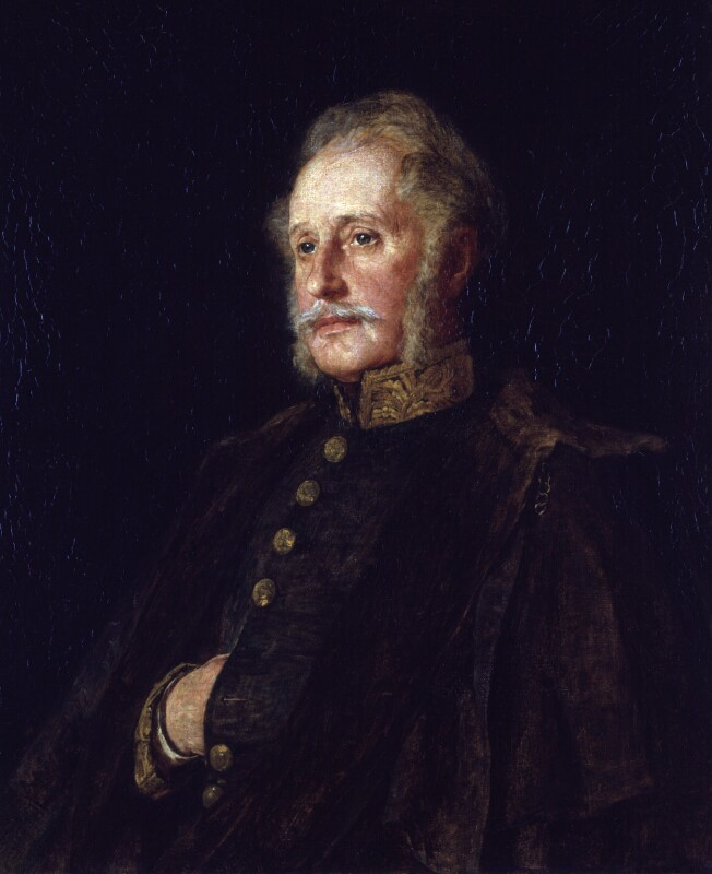 Brian Houghton Hodgson, by Louisa Starr-Canziani, exhibited 1872 - NPG 1707 - © National Portrait Gallery, London
