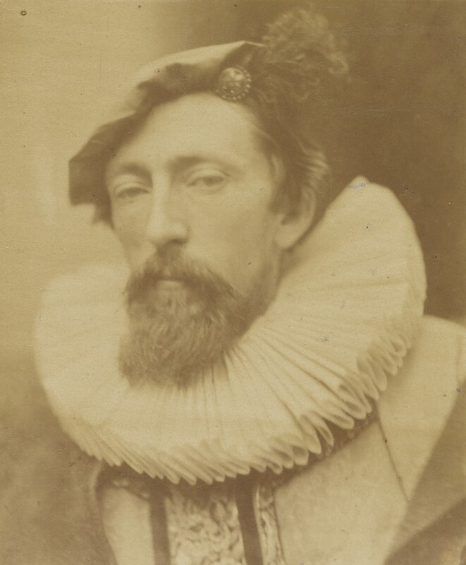 John Evan Hodgson, by David Wilkie Wynfield, 1863 - NPG P91 - © National Portrait Gallery, London