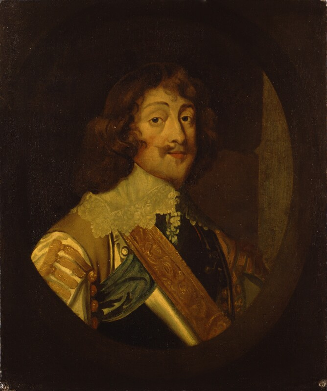 Henry Rich, 1st Earl of Holland, possibly after Sir Anthony van Dyck, based on a work of circa 1640 - NPG 1654 - © National Portrait Gallery, London