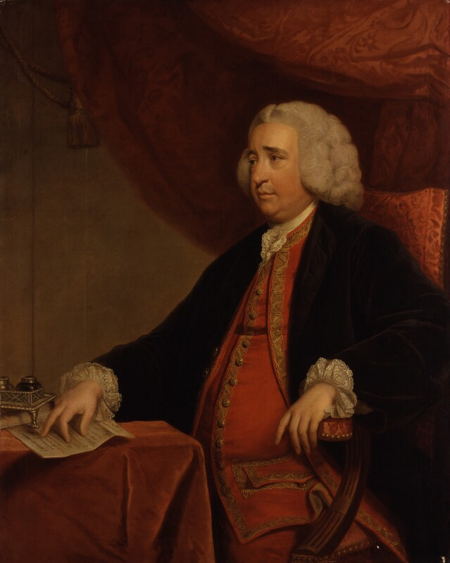 Henry Fox, 1st Baron Holland, by Sir Joshua Reynolds, based on a work of circa 1762 -NPG 2075 - © National Portrait Gallery, London