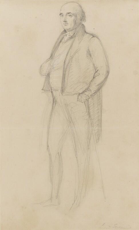 Henry Richard Fox (later Vassall), 3rd Baron Holland, by Sir George Hayter, circa 1820 - NPG 1695(g) - © National Portrait Gallery, London