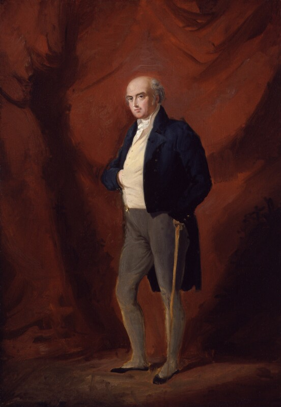 Henry Richard Fox (later Vassall), 3rd Baron Holland, by Sir George Hayter, circa 1820 - NPG 5192 - © National Portrait Gallery, London