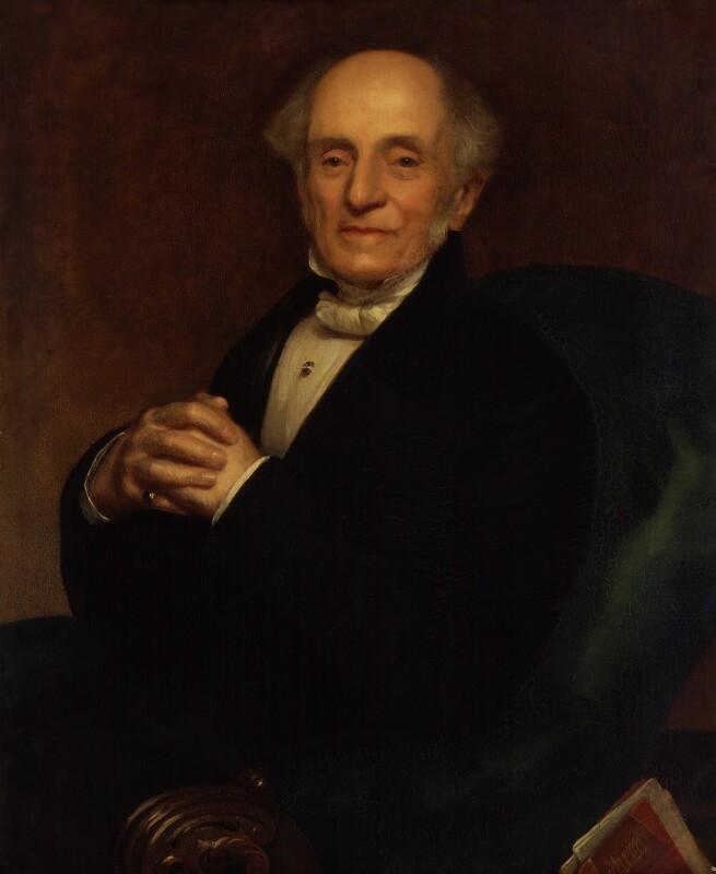 Sir Henry Holland, 1st Bt, by Thomas Brigstocke, exhibited 1860 - NPG 1656 - © National Portrait Gallery, London