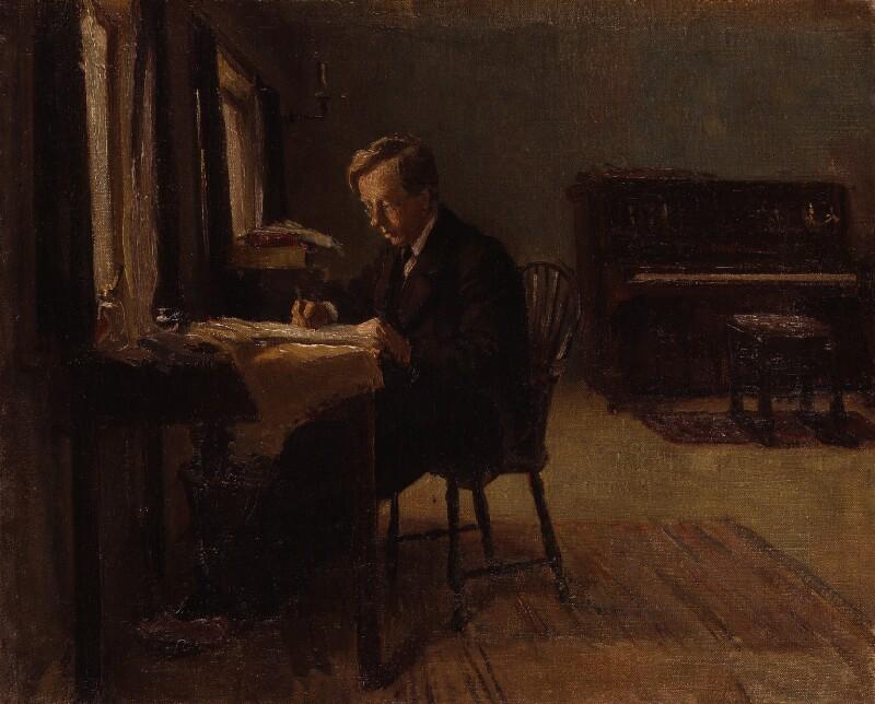 Gustav Holst, by Millicent Lisle Woodforde, 1910 - NPG 4273 - © National Portrait Gallery, London