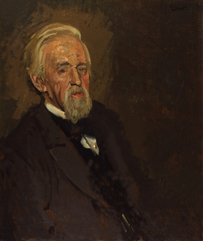 George Jacob Holyoake, by Walter Sickert, exhibited 1892 - NPG 1810 - © National Portrait Gallery, London
