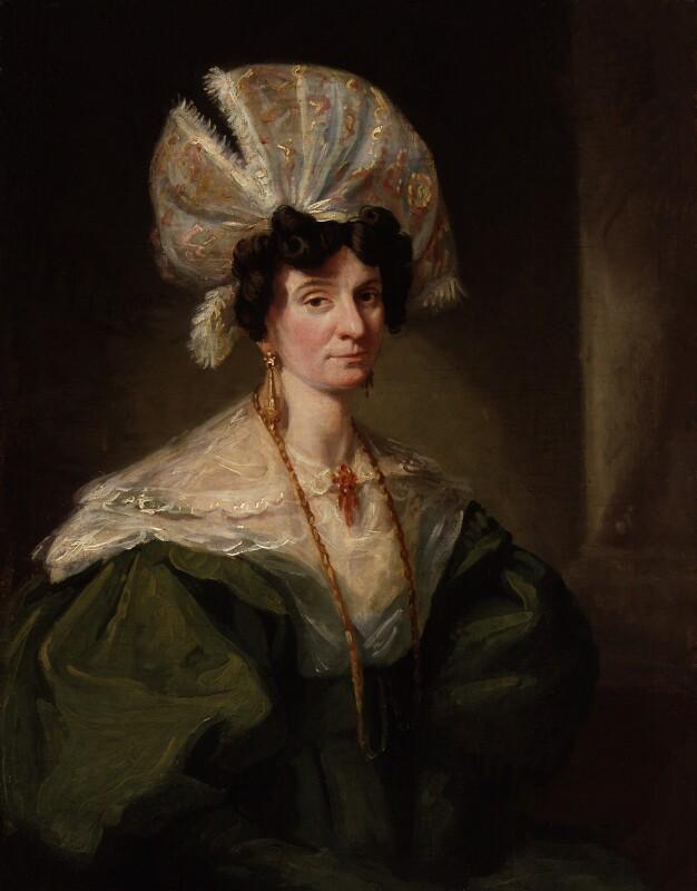Jane Hood (née Reynolds), by Unknown artist, circa 1832-1834 - NPG 856 - © National Portrait Gallery, London
