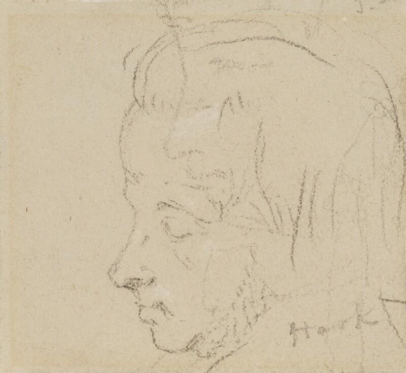 James Clarke Hook, by Charles Hutton Lear, 1845 - NPG 1456(13) - © National Portrait Gallery, London
