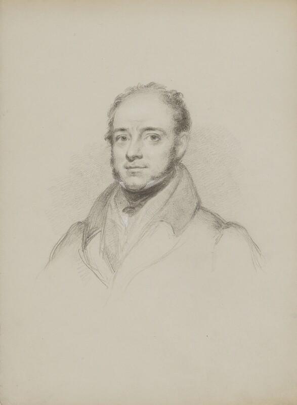 Theodore Edward Hook, by William Brockedon, 1823-1849 -NPG 2515(101) - © National Portrait Gallery, London