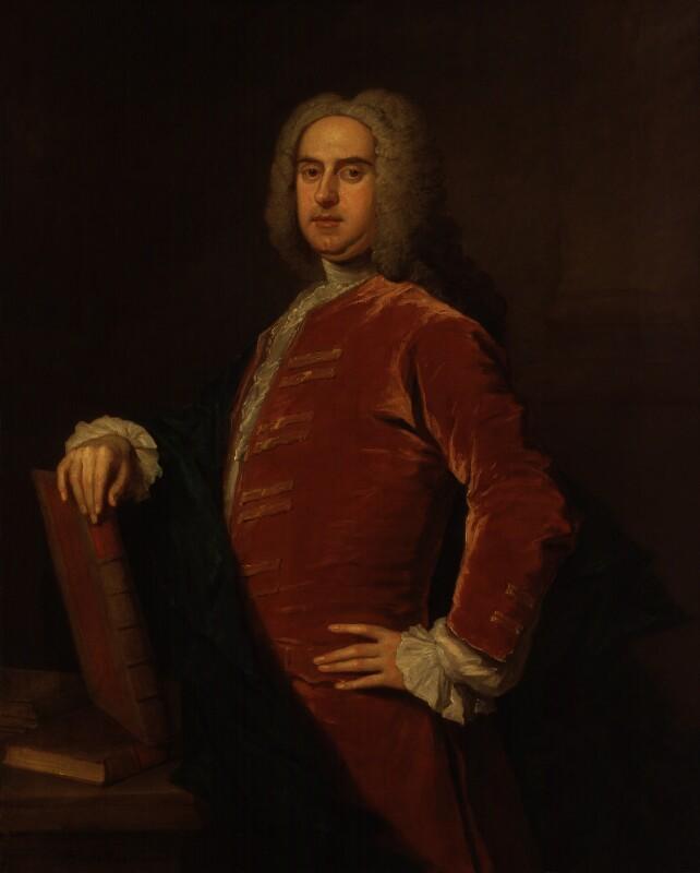 Nathaniel Hooke, by Bartholomew Dandridge, 1720s or 1730s - NPG 68 - © National Portrait Gallery, London