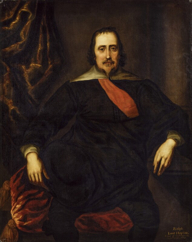 Ralph Hopton, 1st Baron Hopton of Stratton, after Unknown artist, based on a work of circa 1637 - NPG 494 - © National Portrait Gallery, London