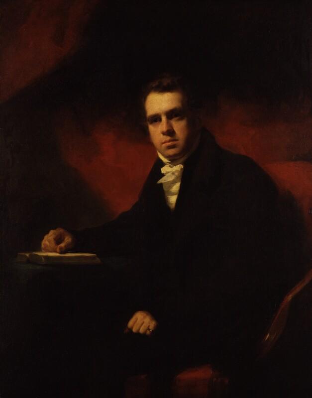 Francis Horner, by Sir Henry Raeburn, 1812 - NPG 485 - © National Portrait Gallery, London