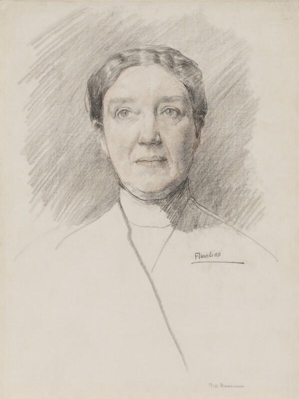 Annie Elizabeth Fredericka Horniman, by Flora Lion, circa 1912 - NPG 3973 - © National Portrait Gallery, London
