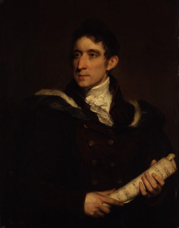 William Horsley, by William Owen, circa 1801 - NPG 1655 - © National Portrait Gallery, London