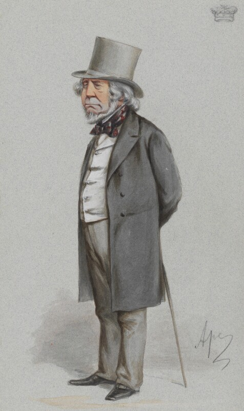 Richard Monckton Milnes, 1st Baron Houghton, by Carlo Pellegrini, published in Vanity Fair 3 September 1870 - NPG 2723 - © National Portrait Gallery, London