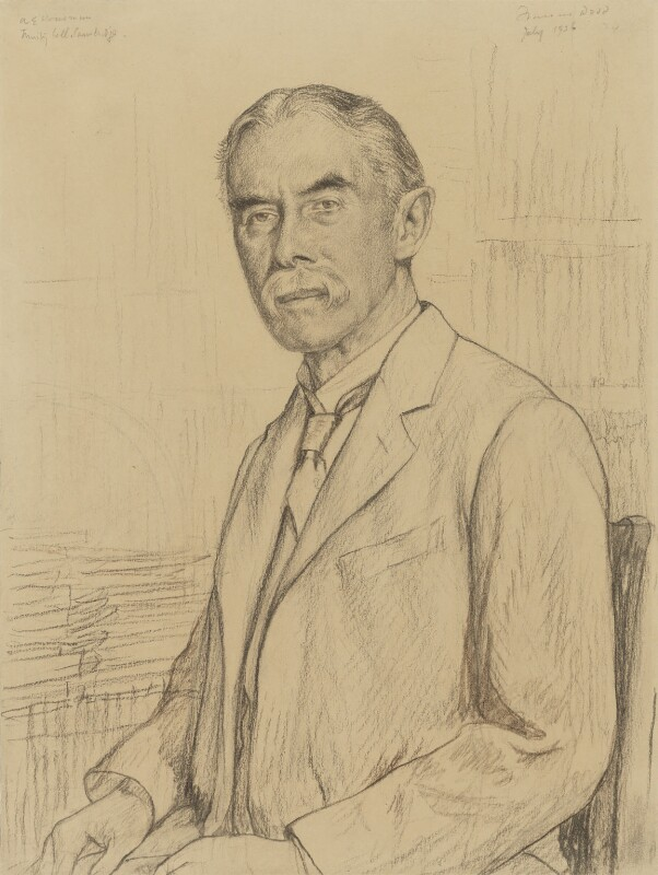 A.E. Housman, by Francis Dodd, 1926 - NPG 3075 - © National Portrait Gallery, London