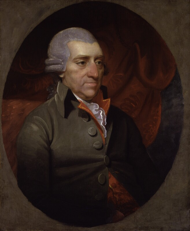 John Howard, by Mather Brown, circa 1789 - NPG 97 - © National Portrait Gallery, London