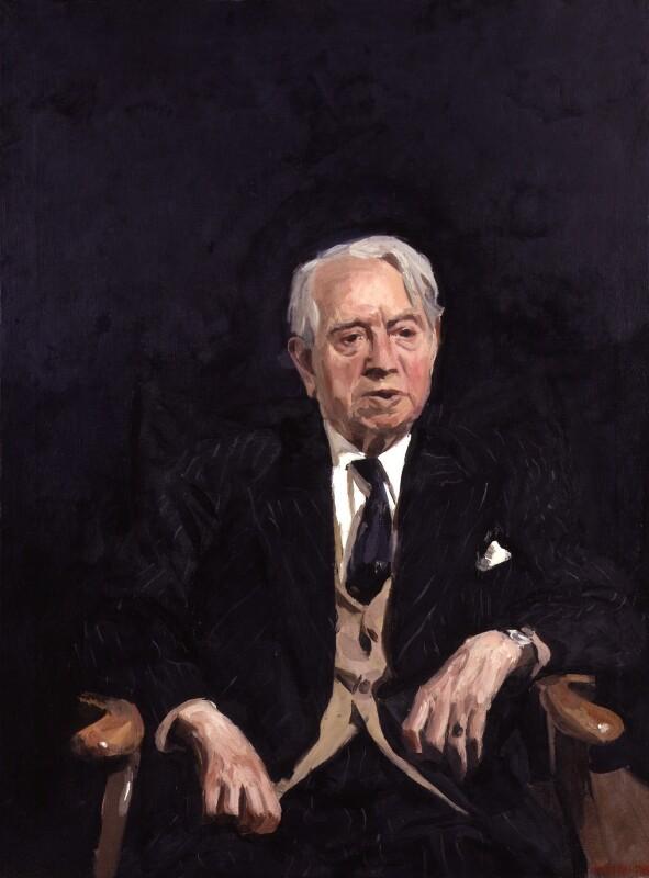 Herbert Norman Howells, by Howard James Morgan, 1978 - NPG 5209 - © National Portrait Gallery, London