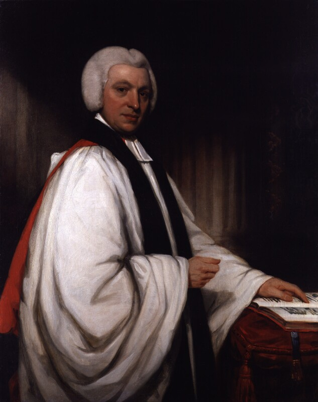 William Howley, by William Owen, circa 1823-1825 - NPG 1552 - © National Portrait Gallery, London