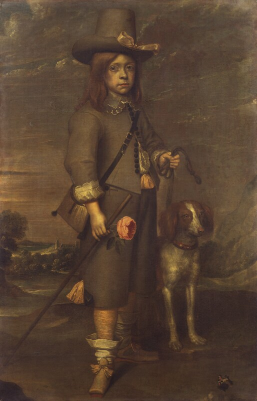 Unknown man, formerly known as Jeffrey Hudson, by Unknown artist, mid 17th century - NPG 1591 - © National Portrait Gallery, London