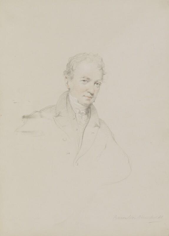 Friedrich Heinrich Alexander, Baron Humboldt, by William Brockedon, 1823-1849 - NPG 2515(38) - © National Portrait Gallery, London