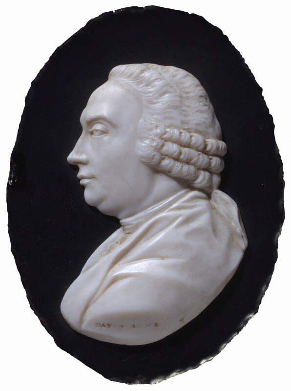 David Hume, by James Tassie, circa 1791 -NPG 4897 - © National Portrait Gallery, London