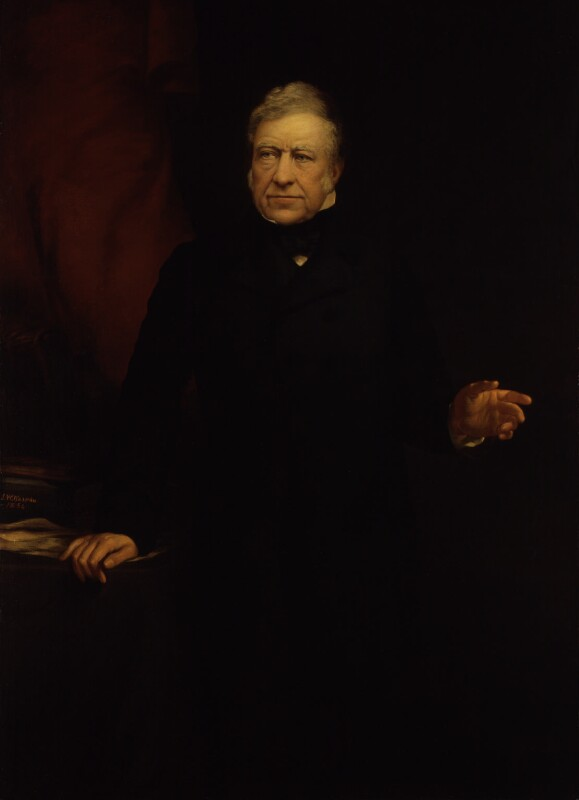 Joseph Hume, by John Whitehead Walton, 1854 - NPG 713 - © National Portrait Gallery, London