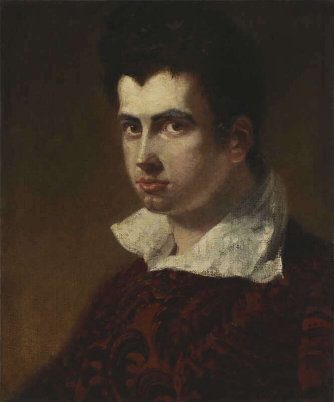 James Henry Leigh Hunt, by Benjamin Robert Haydon, circa 1811 - NPG 293 - © National Portrait Gallery, London