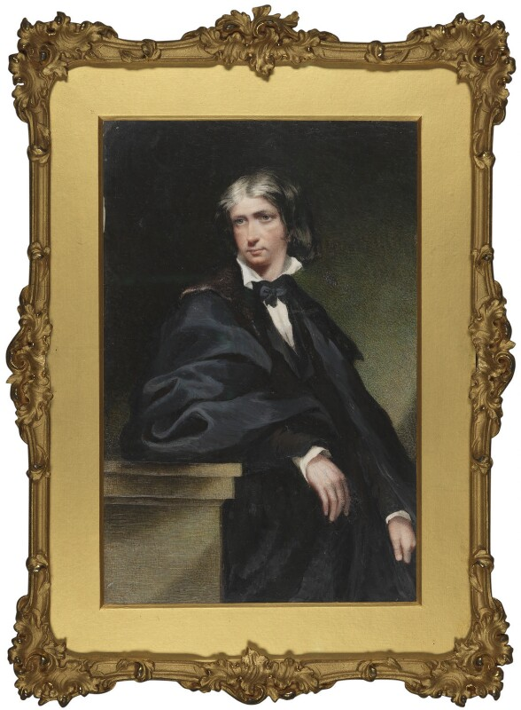 Leigh Hunt, by Margaret Gillies, 1838-1846 -NPG 1267 - © National Portrait Gallery, London