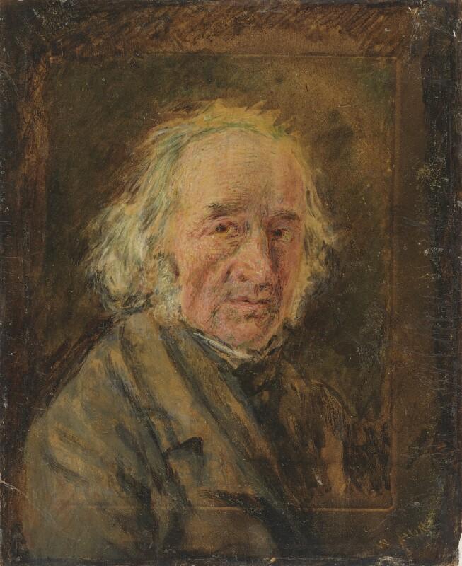 William Henry Hunt, by William Henry Hunt,  - NPG 768 - © National Portrait Gallery, London