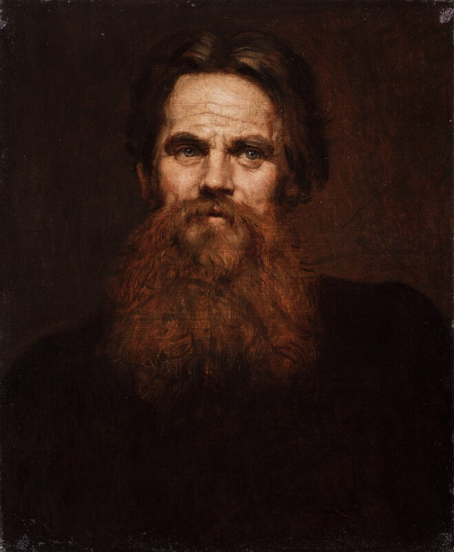 William Holman Hunt, by Sir William Blake Richmond, circa 1877 -NPG 1901 - © National Portrait Gallery, London