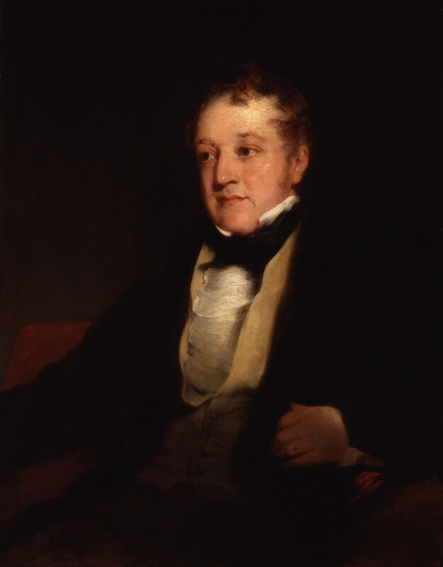 William Huskisson, replica by Richard Rothwell, after  Richard Rothwell, circa 1831, based on a work of 1830 - NPG 21 - © National Portrait Gallery, London
