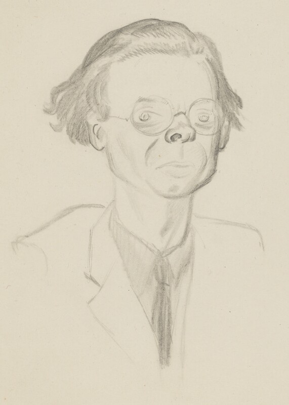 Aldous Huxley, by Sir David Low, 1933 - NPG 4529(175) - © Solo Syndication Ltd