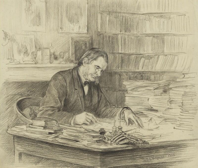 Thomas Henry Huxley, by Theodore Blake Wirgman, 1882 - NPG 1528 - © National Portrait Gallery, London