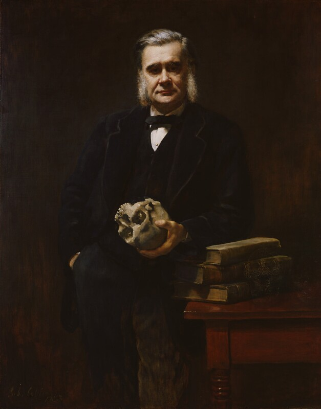 Thomas Henry Huxley, by John Collier, 1883 - NPG 3168 - © National Portrait Gallery, London