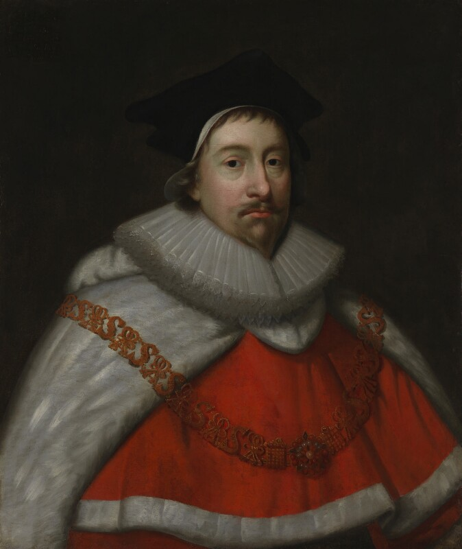 Unknown man, formerly known as Sir Nicholas Hyde, by Unknown artist,  - NPG 461 - © National Portrait Gallery, London