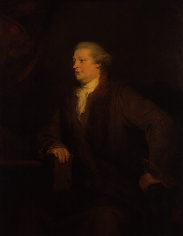 Sir Elijah Impey, by Johan Joseph Zoffany, circa 1771-1772 - NPG 335 - © National Portrait Gallery, London