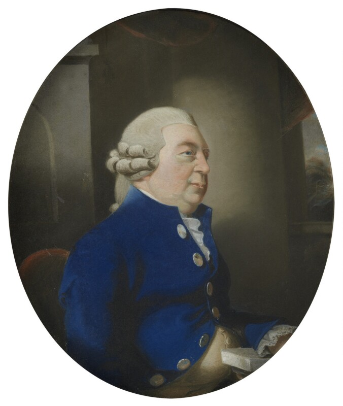Sir Elijah Impey, by Sir Thomas Lawrence, 1786 -NPG 821 - © National Portrait Gallery, London