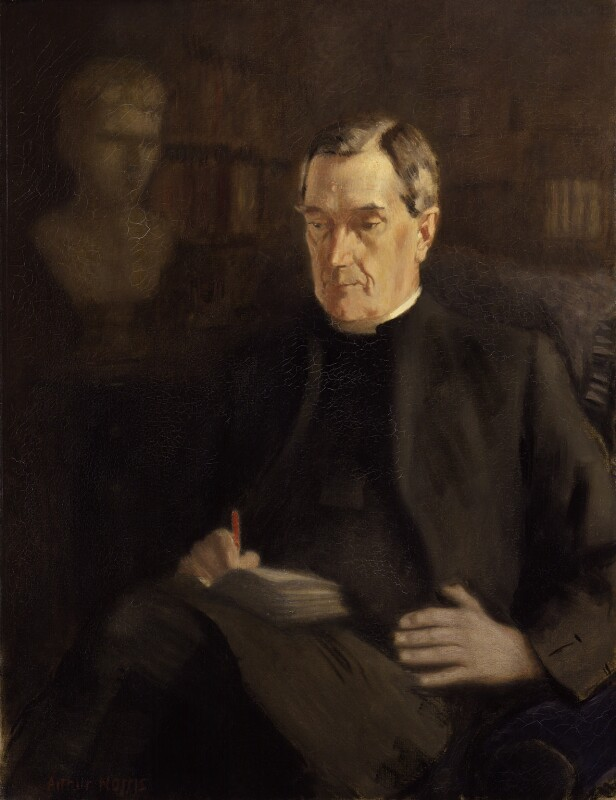 William Ralph Inge, by Arthur Norris, exhibited 1934 - NPG 3920 - © reserved; collection National Portrait Gallery, London