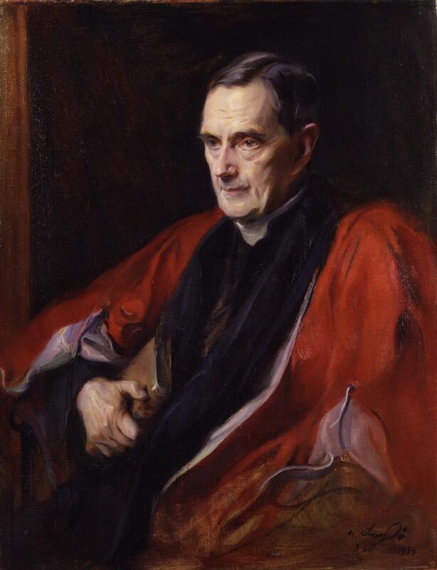 William Ralph Inge, by Philip Alexius de László, 1934 - NPG 4856 - © National Portrait Gallery, London