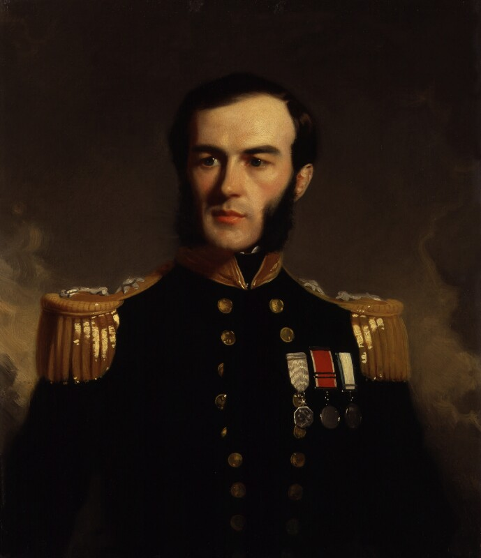 Sir Edward Augustus Inglefield, by Stephen Pearce, exhibited 1853 -NPG 1223 - © National Portrait Gallery, London