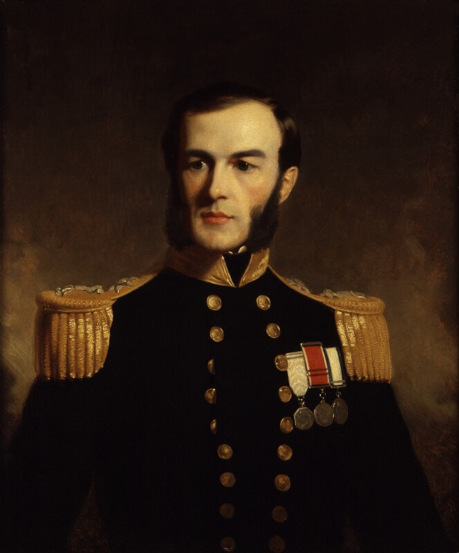 Sir Edward Augustus Inglefield, by Stephen Pearce, late 19th century, based on a work of 1853 -NPG 921 - © National Portrait Gallery, London