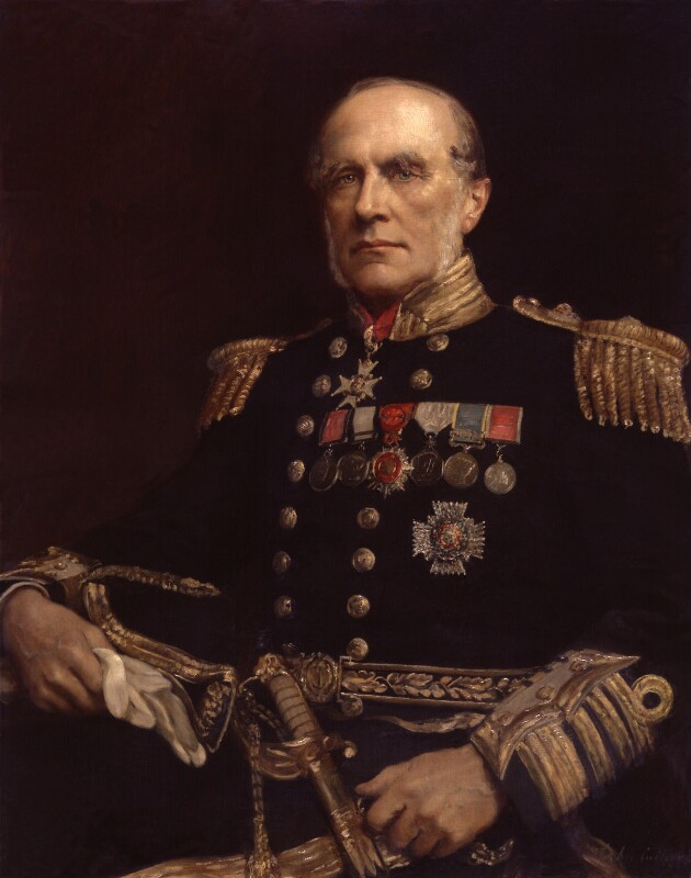 Sir Edward Augustus Inglefield, by John Collier, 1897 - NPG 2500 - © National Portrait Gallery, London