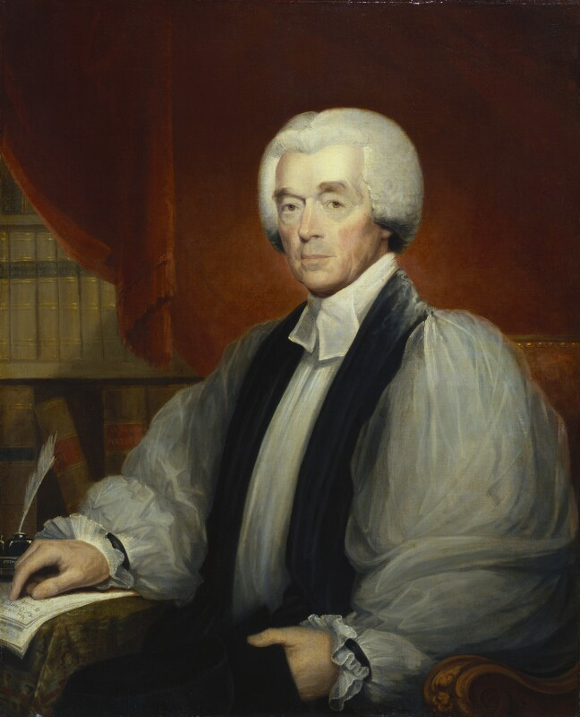 Charles Inglis, by Robert Field, 1810 - NPG 1023 - © National Portrait Gallery, London