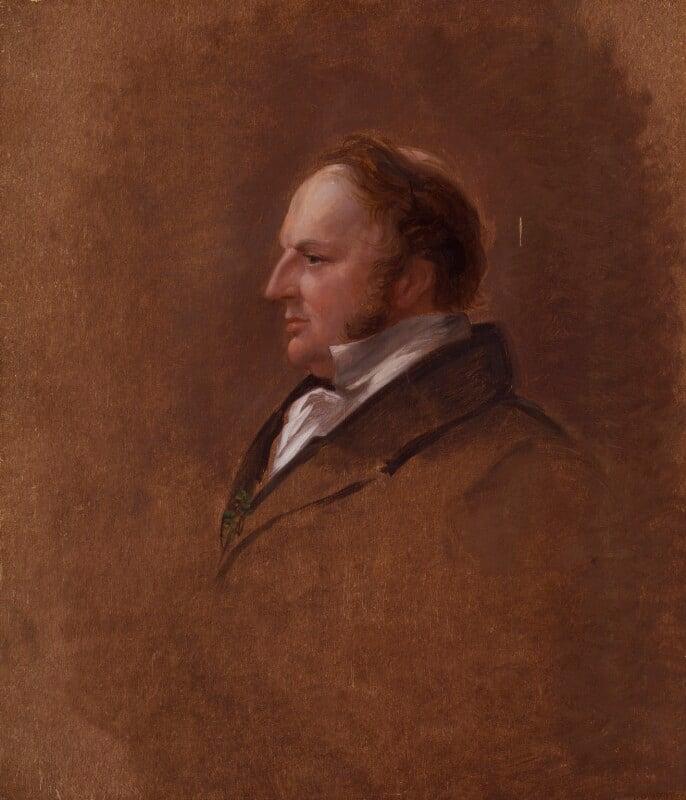 Sir Robert Harry Inglis, 2nd Bt, by Sir George Hayter, 1833-1843 - NPG 4968 - © National Portrait Gallery, London